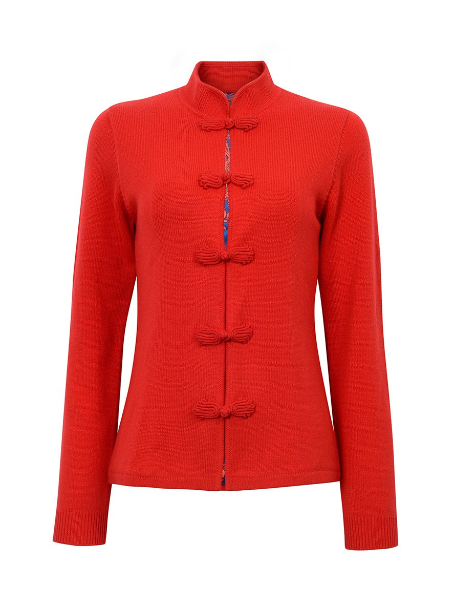 cashmere cardigans with silk lining