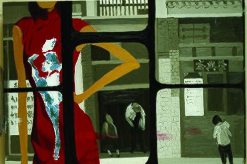 art acrobat dress