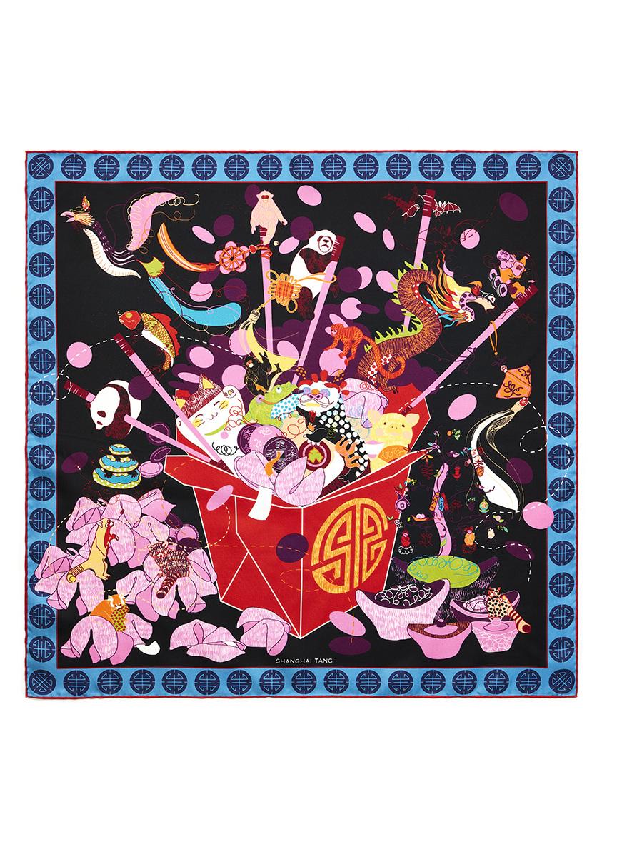 Fortune Silk Square