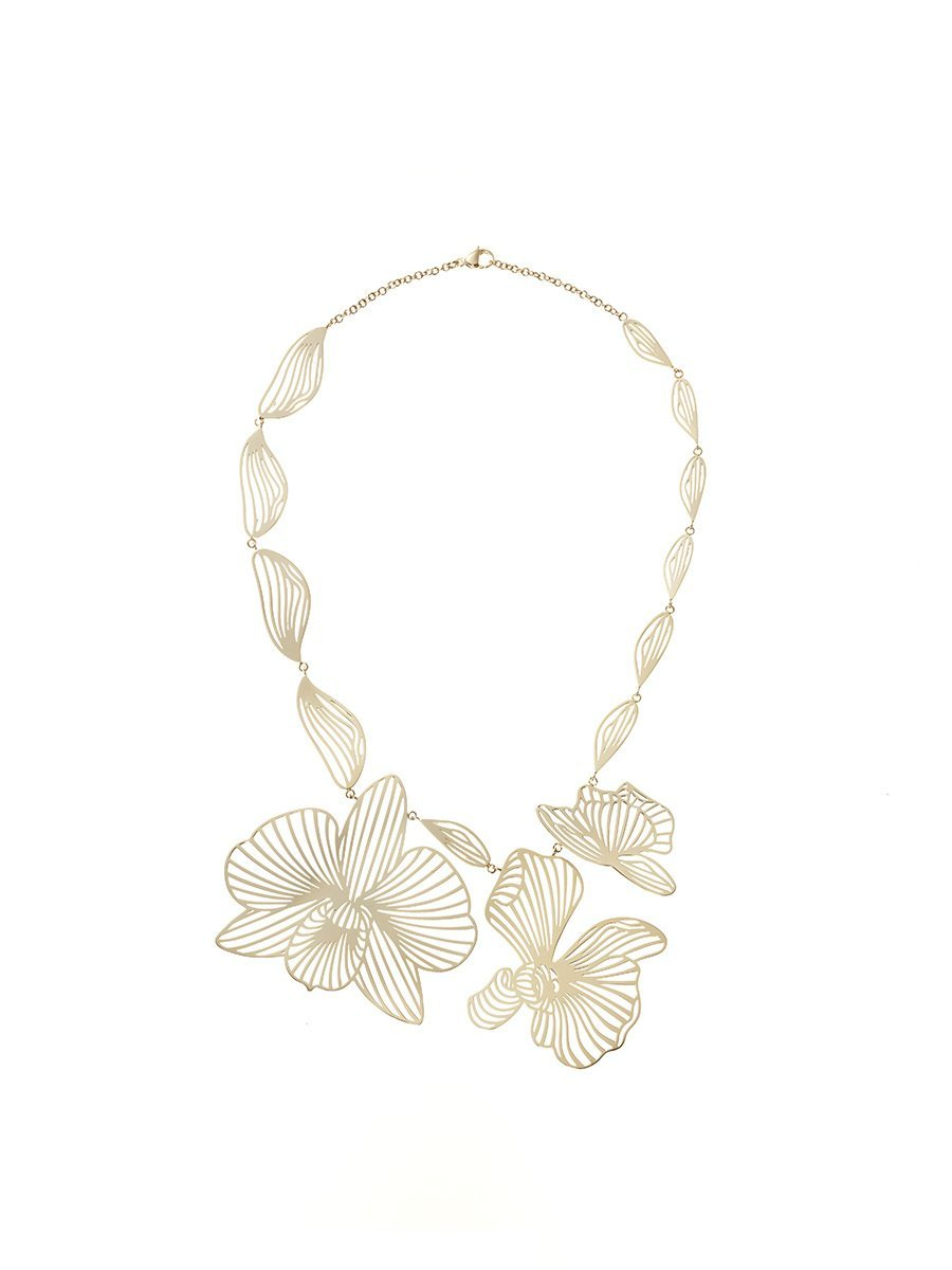 Orchid Statement Necklace
