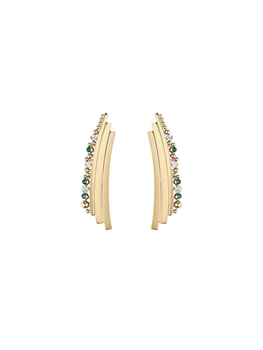 Beaded Deco Earrings