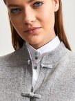 Cashmere Cardigan with Silk Lining