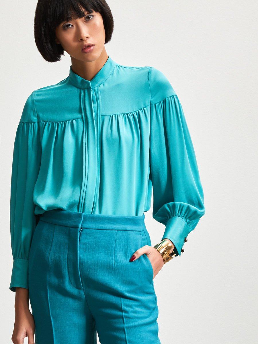 Silk Long Sleeve Blouse