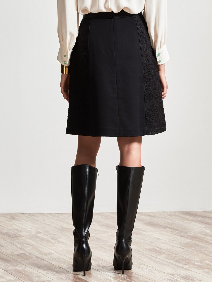 Embroidery Fabric Skirt