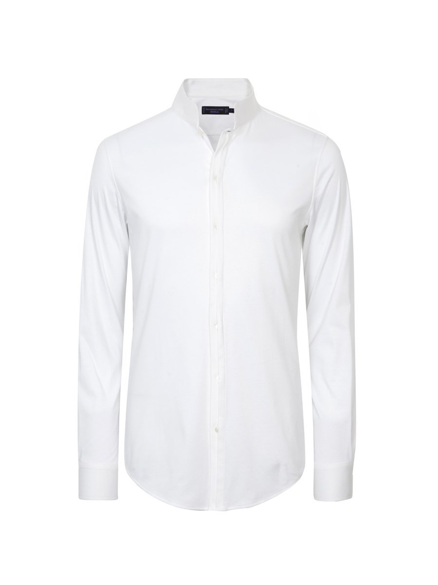 Cotton Jersey Interlock Shirt