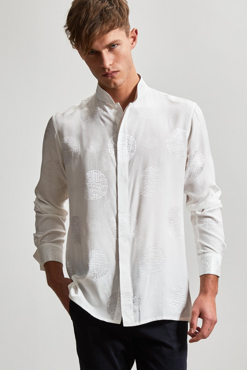Double Happiness Silk Shirt