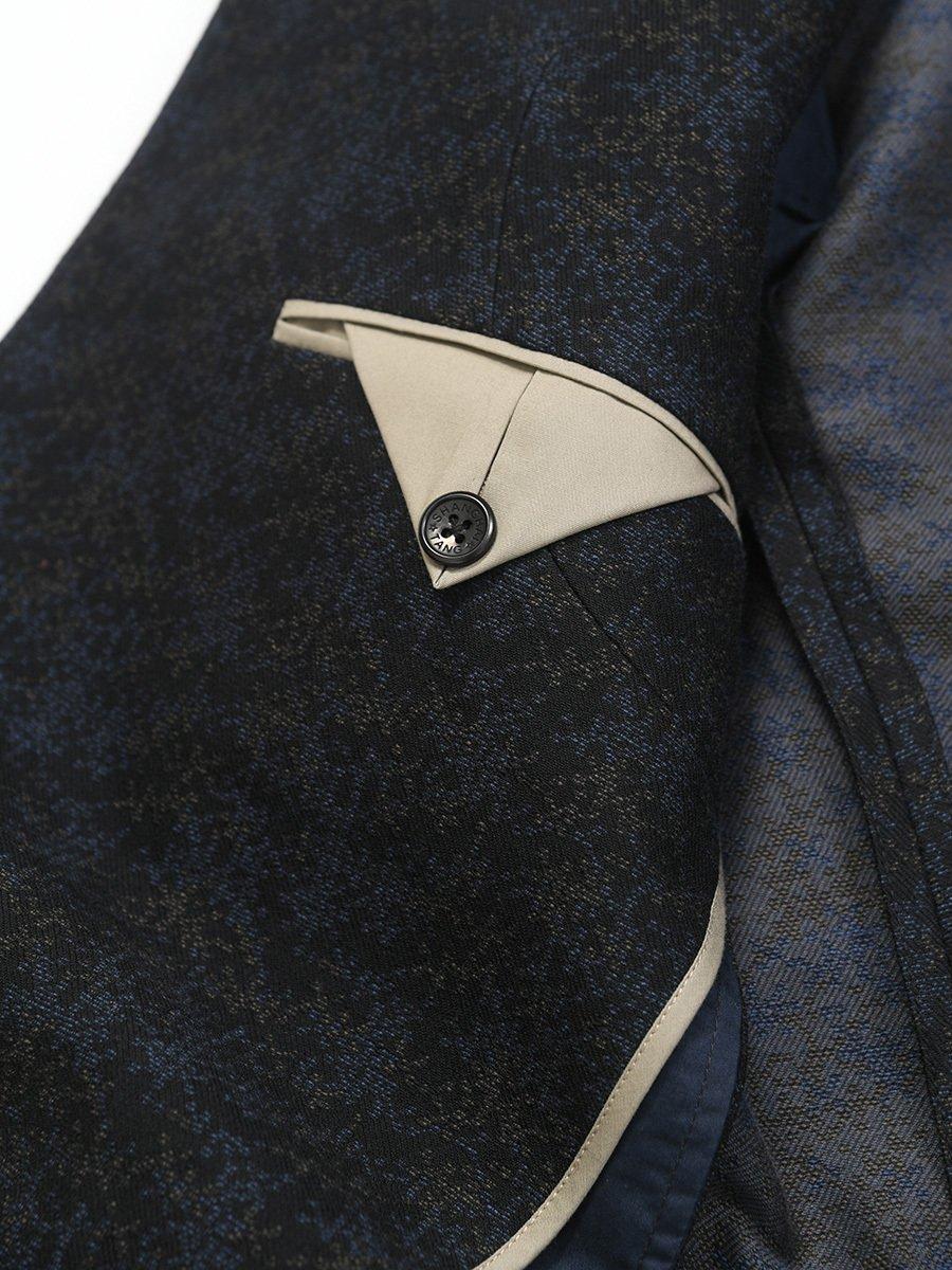 Cotton Wool Knit Blazer
