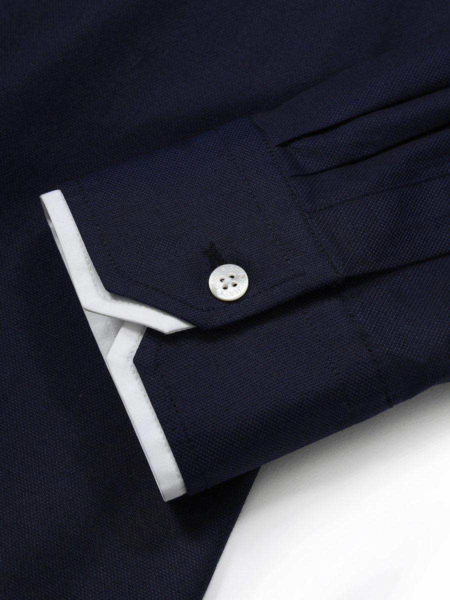 Cotton Stretch Double Collar Shirt