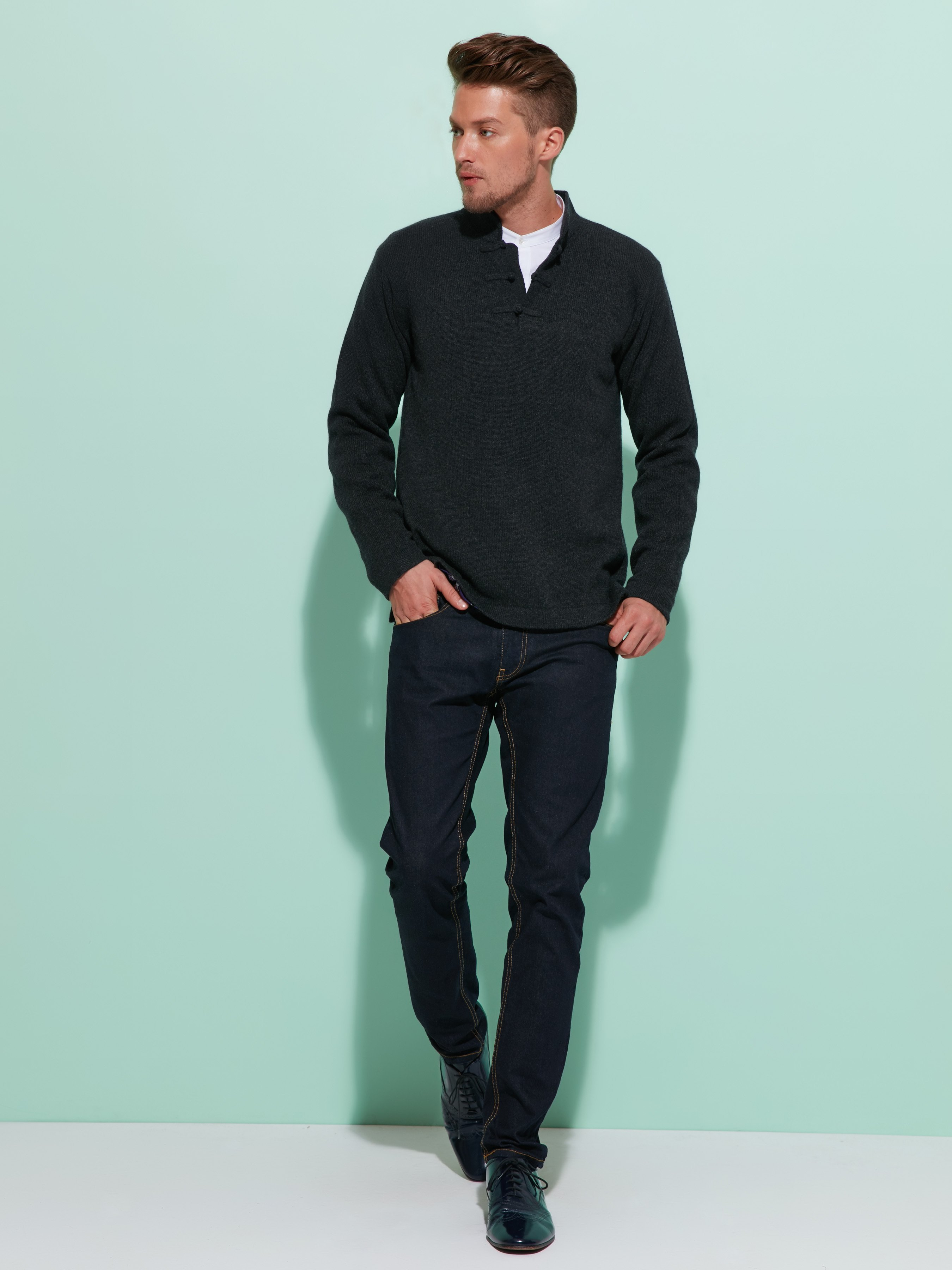 Cashmere - Silk Lined Sweater
