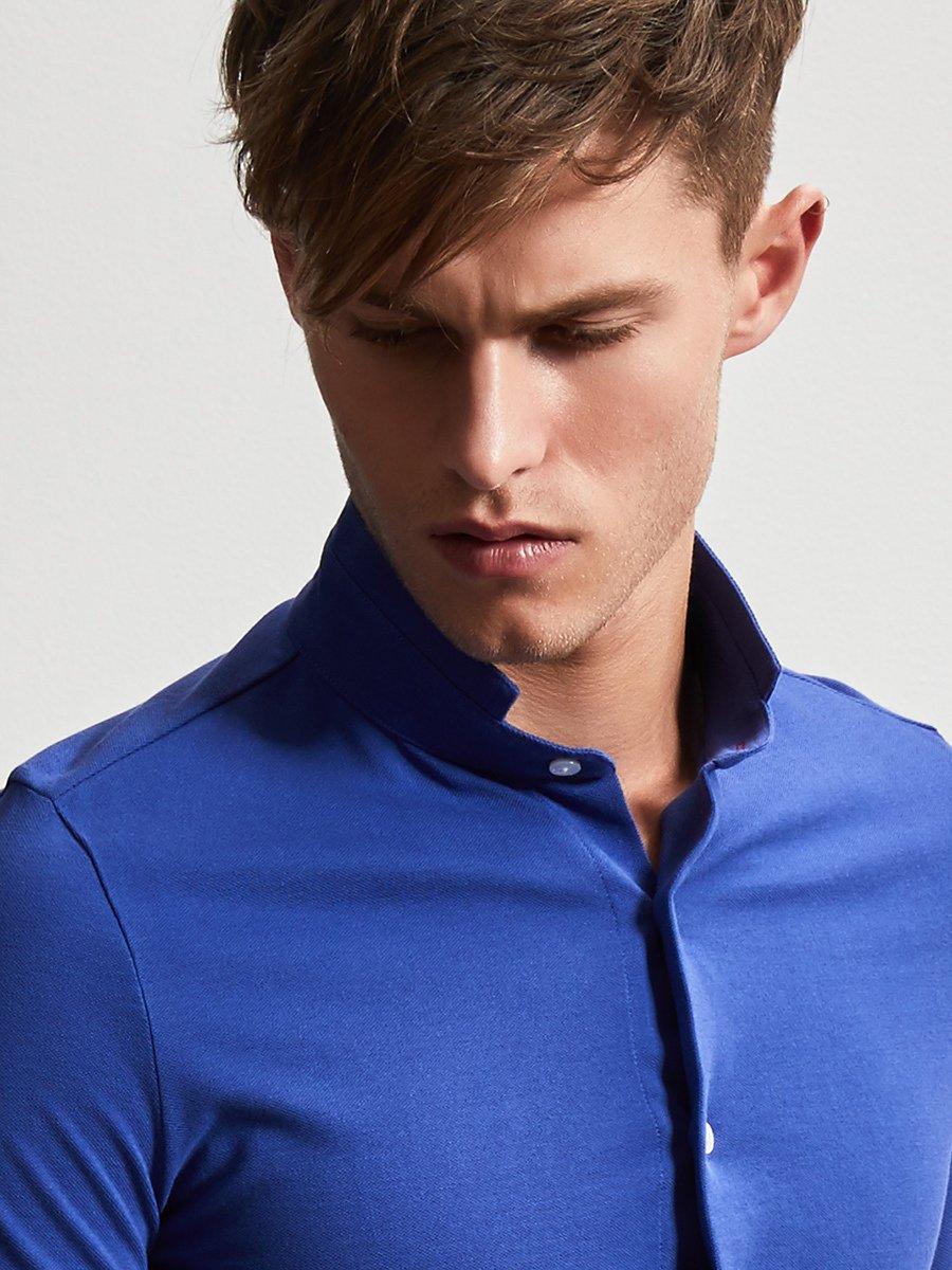 Cotton Fine Pique Polo Shirt