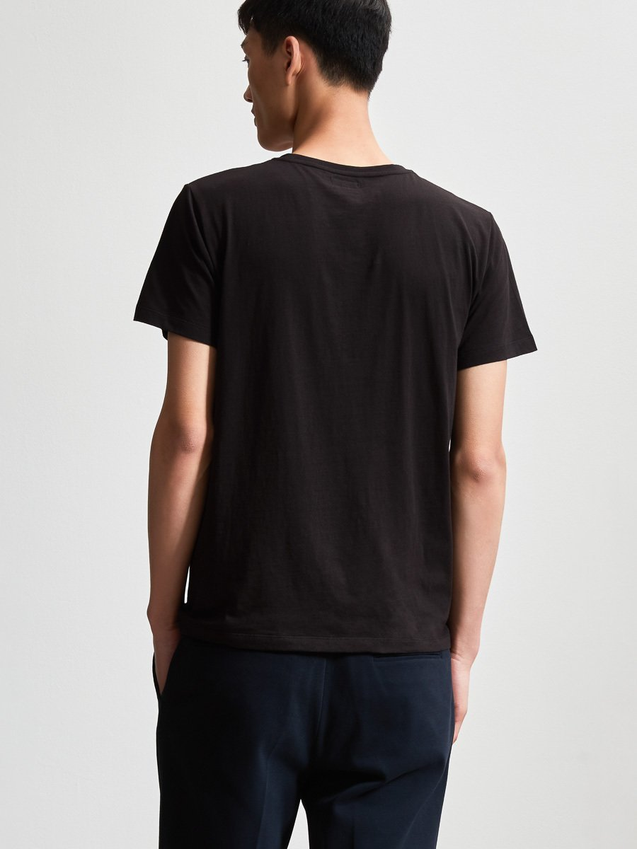 Cotton Crane Patch T-Shirt