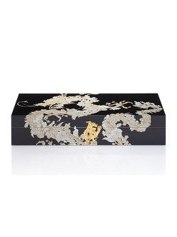 Carved Dragon Humidor