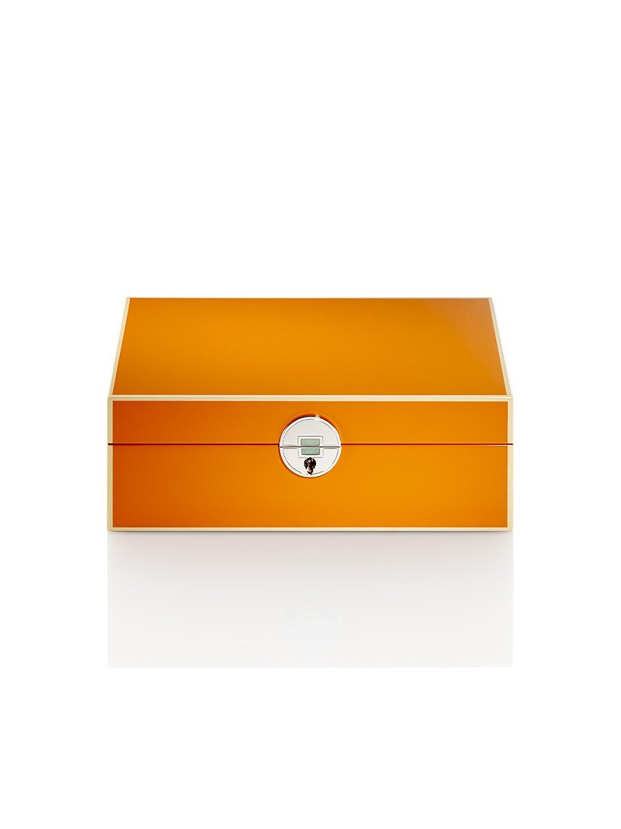 Jade Inspired Coin Jewellery Lacquer Box