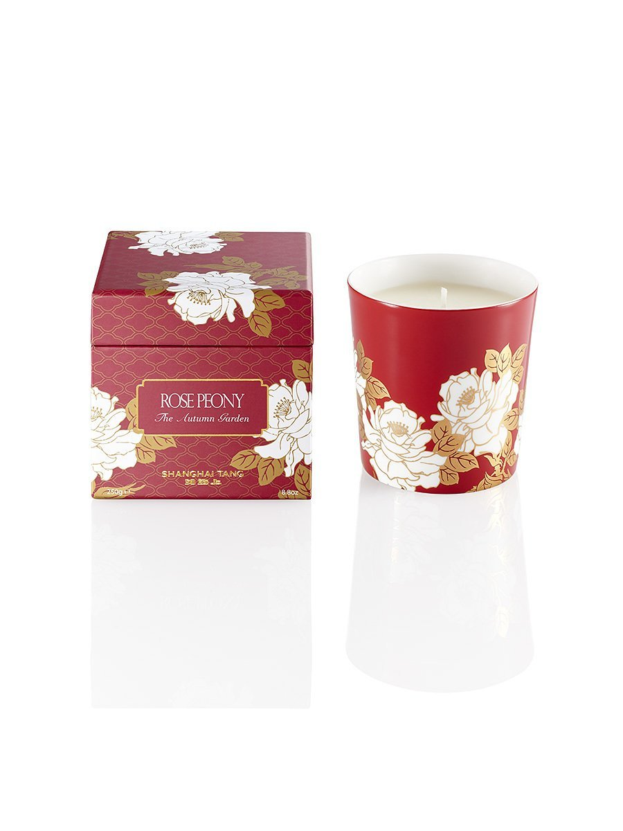 Autumn Imperial Garden Candle - Rose Peony