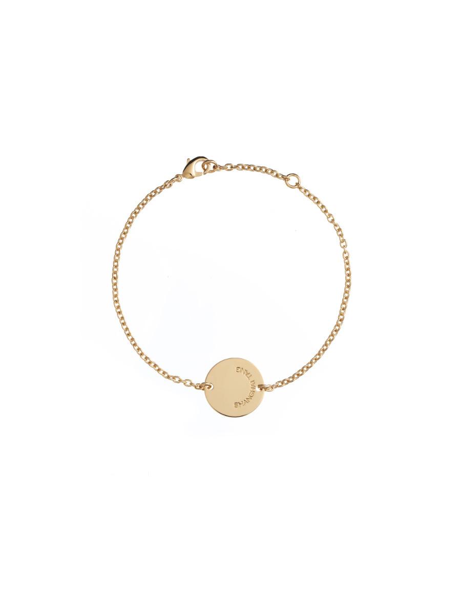 Gold Signature Bracelet