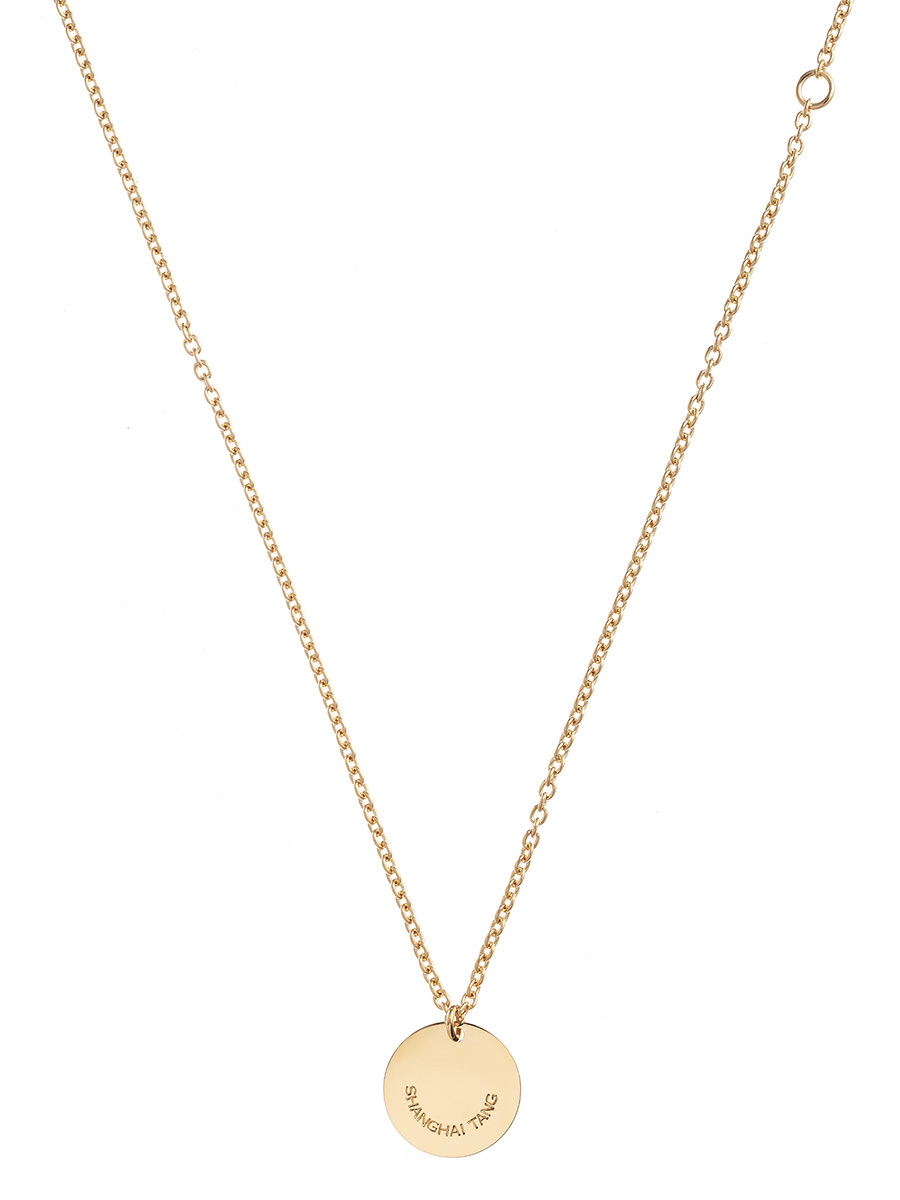 Gold Signature Pendant