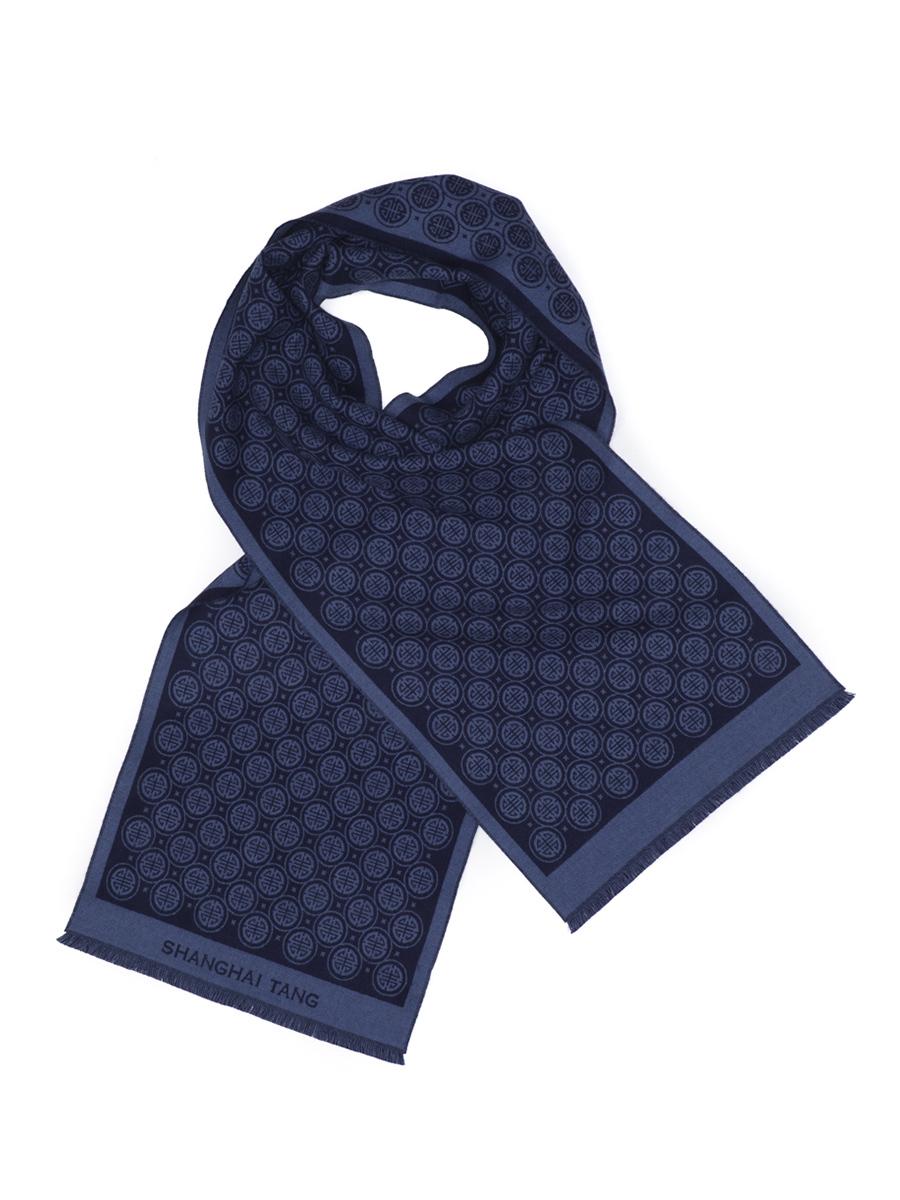 Wool Shou Jacquard Scarf