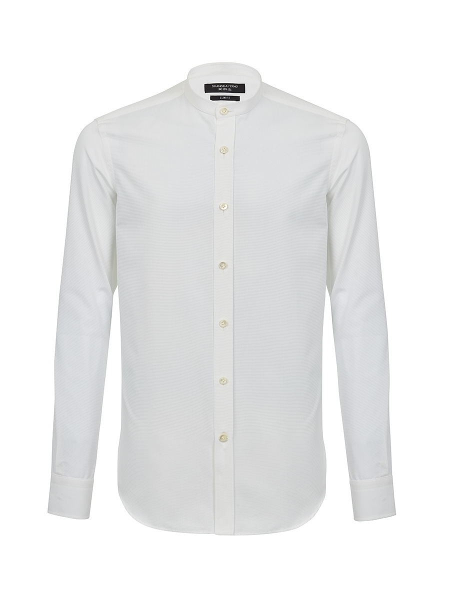 Band Collar Shirt