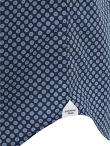 Shou Printed Band Collar Shirt