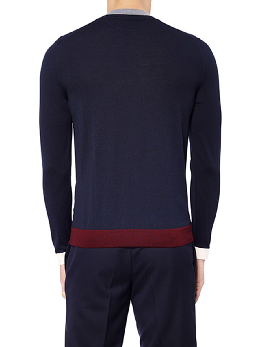 Double Collar Sweater
