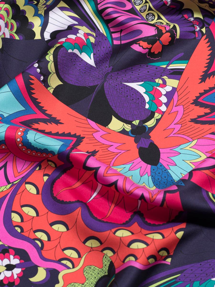 Metamorphosis Silk Twill Foulard