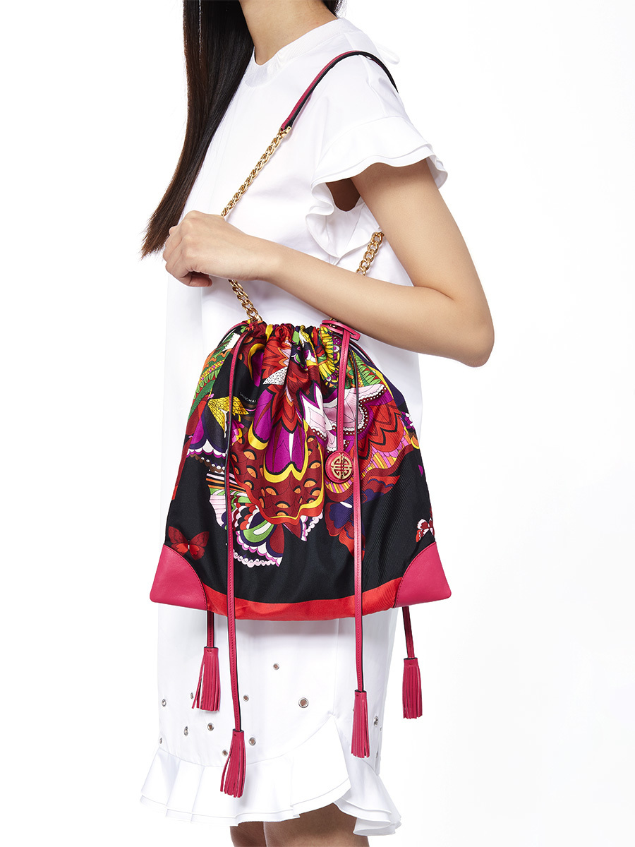 Silk Printed Bag