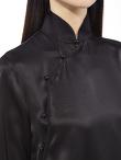 Qipao Long Sleeves Silk Blouse