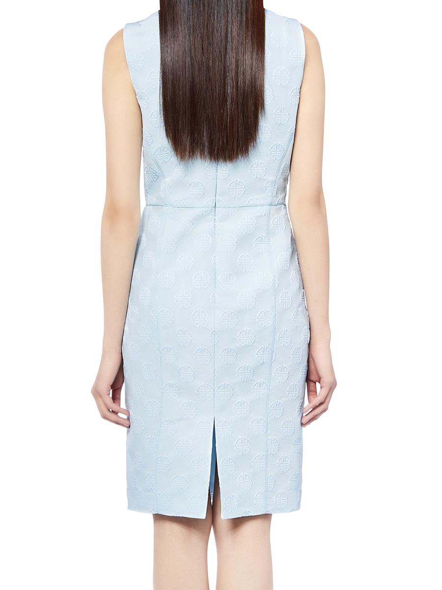 Shou Jacquard Dress