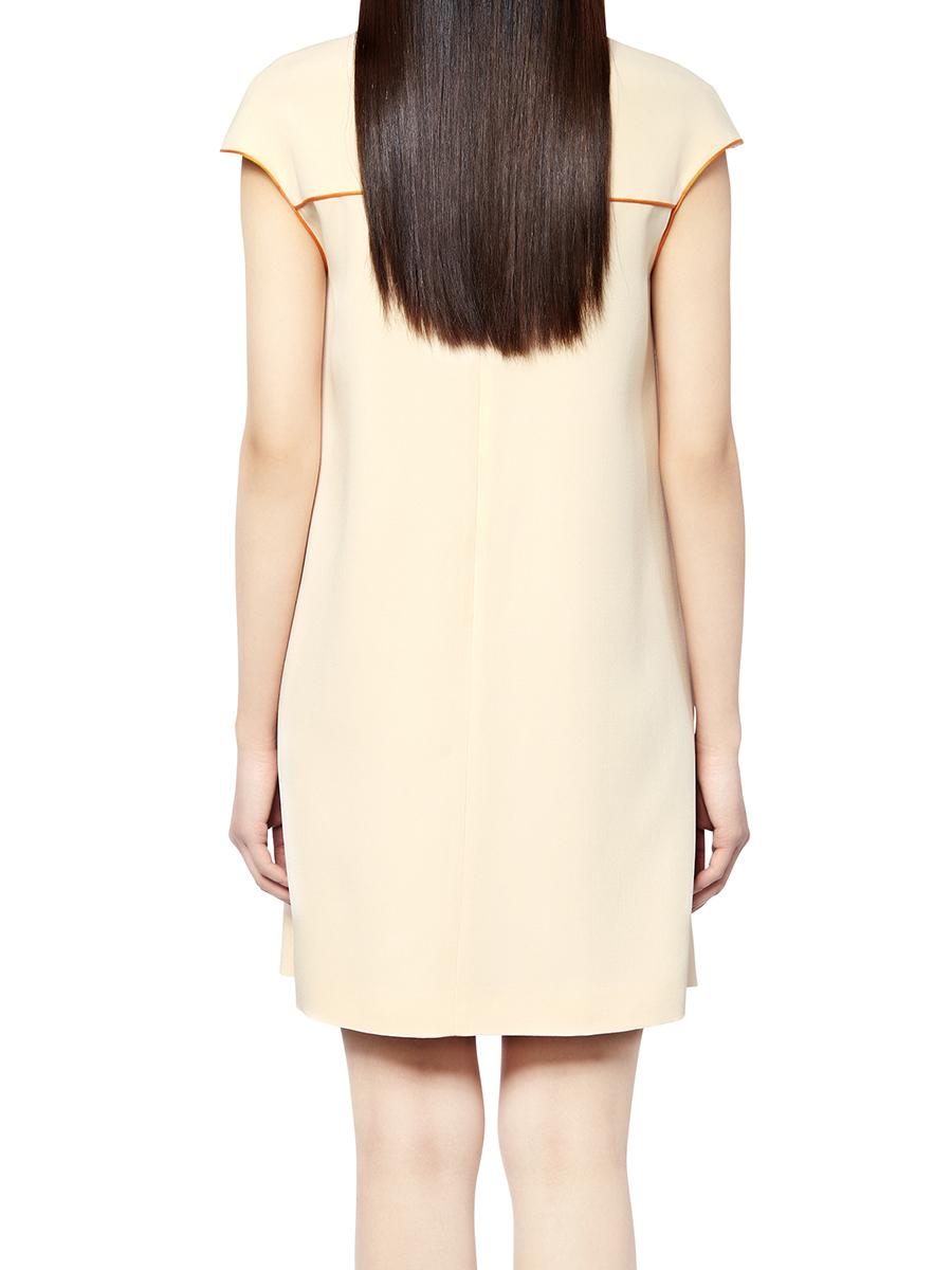 Cap Sleeves Short Dress