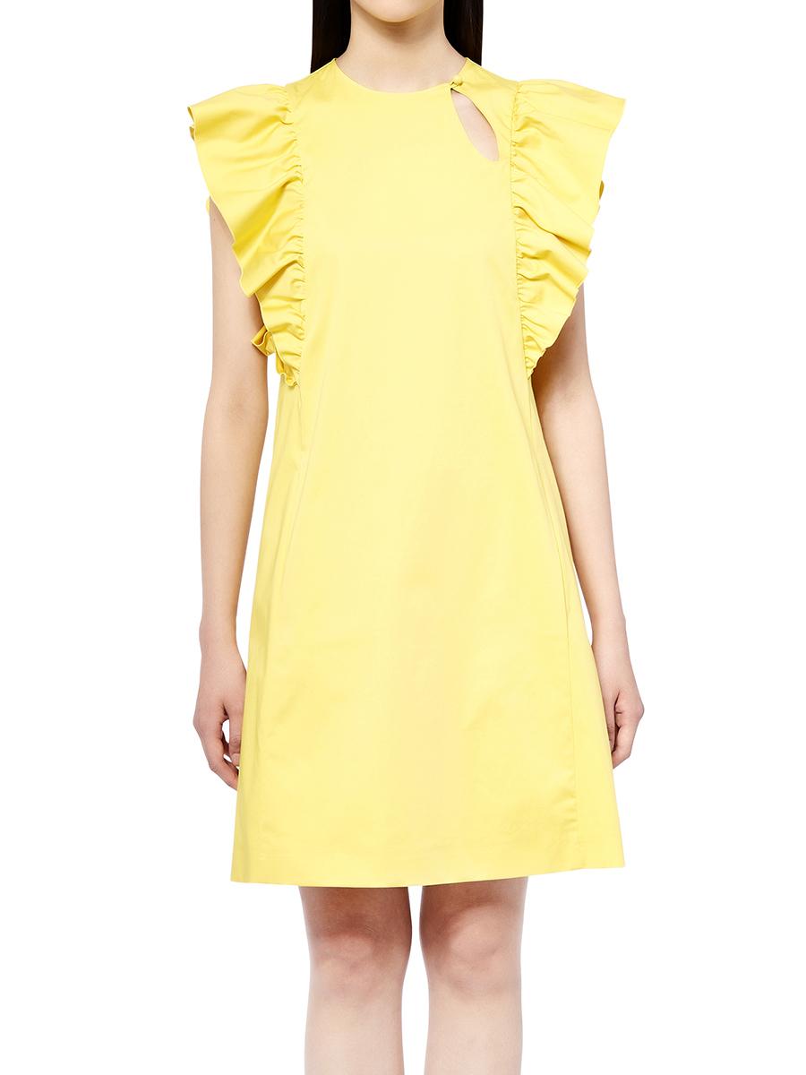 Ruffles Cotton Dress